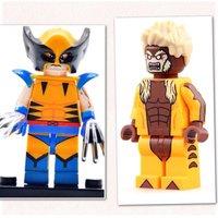 Wolverine Vs Sabretooth Minifigures - Wolverine Gifts