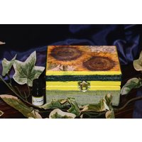 Aromatherapy Box, Hand decorated essential oil storage. - Aromatherapy Gifts