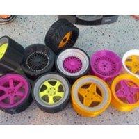 BBS RC replica 3D printed wheel model. Suit garage, workshop, mancave, display ect. - Rc Gifts