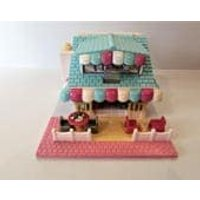 1993 Bluebird Polly Pocket Pizza Parlor House Only Lights Up  No Dolls    / MEMsArtShop. - Polly Pocket Gifts