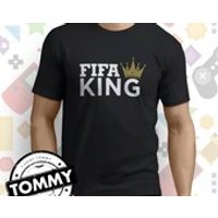 FIFA King tshirt football, Fifa Champ, ps4, xbox, pc gaming shirt - Xbox Gifts