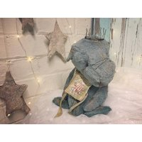 Whisper the ooak vintage Guddlegrump monster artist bear - Artist Gifts