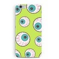 Eyes iPhone 8 Case, Googly Eye phone case, Black friday, Halloween iPhone 8 case, Green iPhone X case, Creepy case for iphone 8 plus, kids - Halloween Gifts