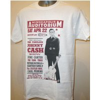 The Johnny Cash Show Printed T Shirt  Retro 50s Music Poster  New W139 Mens Womens Tee - Johnny Cash Gifts