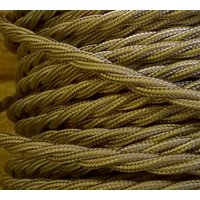 Vintage Style Twisted Braided Cable  Beige - Computers Gifts