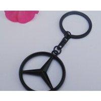 Mercedes Black Series Satin Keychain Keyring - Mercedes Gifts