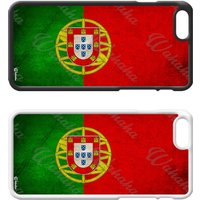Flags of the World Plastic Phone Case iPhone 5 SE 6 7 8 Plus Galaxy J5 S5 S6 S7 S8 Edge Note Xperia iPad Air Mini 2 3 4 No.09 Portugal - Ipad Gifts
