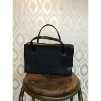 Vintage navy Kelly handbag - Handbags Gifts