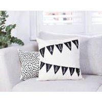 Personalised Nursery Bunting Cushion - Nursery Gifts