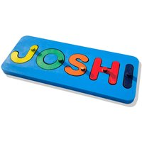 Customised Kids Name Jigsaw Puzzle With Choice Of Colours Laser Cut  Hand Finished Perfect Childrens Christmas / Birthday Present - Jigsaw Puzzle Gifts