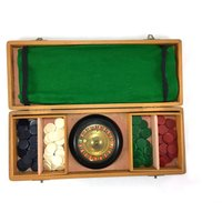 Vintage roulette set in carry case - Roulette Gifts