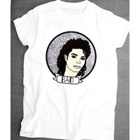 Michael Jackson hand illustrated  unisex cotton tshirt. All sizes available. - Michael Jackson Gifts