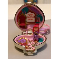 RARE Vintage Polly Pocket Princess Palace Gold Heart Locket 1993Complete  Perfect - Polly Pocket Gifts