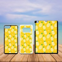 Summer Tropical Plastic Phone Case iPhone 5 5C SE 6 7 8 X Plus Galaxy J5 S5 S6 S7 S8 Edge Note Xperia iPad Air Mini 2 3 4 No.07 Pineapple - Ipad Gifts