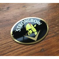 Strongbow Cider Pump Clip. Beer Badge. Bulmers Breweriana. - Strongbow Gifts