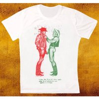 Cowboy naked sex pistols worn by Sid tshirt - Sex Pistols Gifts