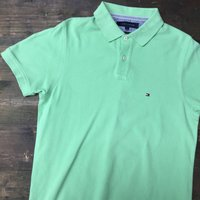 Mint Green Tommy Hilfiger Polo Shirt - Polo Gifts