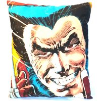 Marvel Wolverine Comic style cushion (approx 10.5x12 inches) - Wolverine Gifts