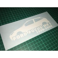 Ford Focus car decal sticker Gift Ford Focus Mk1 petrolhead - Computers Gifts