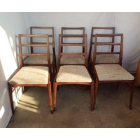 set of 6 Midcentury Teak Afromosia dining chairs by Richard Hornby for Heals, six dining chairs Richard Hornby Fyne Ladye Furniture of Bath - Hornby Gifts