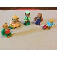 Five vintage teddy bears in my pocket 1995 M.E.G - Teddy Bears Gifts