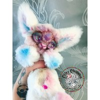 Ooak Artist Unicorn/ Kitty/ Lamb/ Creature/ Monster  Solana - Artist Gifts