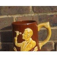 Vintage Darts Player Dartmouth Pottery EnglandTankard - Darts Gifts