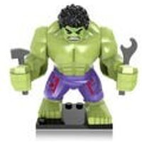 DC Comics Marvel Large Size HULK Custom Minifigure Minifigs Figure Birthday Gift Cake Building Blocks Brick Fits With Lego - Hulk Gifts