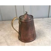 Antique Arts and Crafts Benson copper lidded jug - Arts And Crafts Gifts