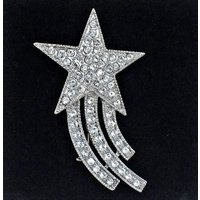 Vintage Stunning Shooting Star Brooch - Shooting Gifts