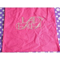 Handmade tote bag, Lady Gaga logo - Lady Gaga Gifts