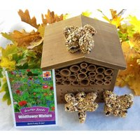 Bee Gift Set, Bee Box, Bee Gifts, Gardening Gift, Christmas Gifts for Women, Sister Gift, Husband Gift, Mum Gift, Dad Gift, Insect Bee Hotel - Gardening Gifts