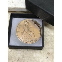 90th birthday gift 1928 Lucky Penny Coin Gift Boxed - 90th Birthday Gifts