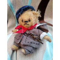 Bertie  Artist Bear, Collectible Bear, Vintage Toy - Artist Gifts