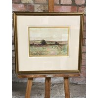 Beautiful Original Watercolour By The English Artist, George Oyston Dated 1910 - Artist Gifts