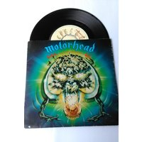 Signed Motorhead Overkill 7 single 79 - Motorhead Gifts