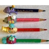 Ultra RARE Polly Pocket Pen Pals  Set x 4  Perfect Unused Condition 1992 - Polly Pocket Gifts