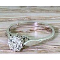 Art Deco 0.70 Carat Old Cut Diamond Engagement Ring, circa 1925 - Engagement Ring Gifts