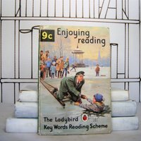 Enjoying Reading (Vintage, Ladybird, Christmas) - Reading Gifts