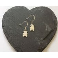 Sterling Silver Hippo earrings / hippo jewellery / animal earrings / animal jewellery / animal lover gift - Hippo Gifts