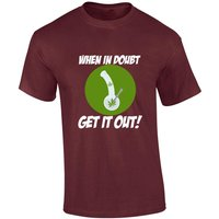 When In Doubt Get It Out Bong Funny TShirt Cannabis Mens Womens TShirt Funny Marijuana Bud Present Joint Smoke Stoner Gift Weed Unisex 1111 - Cannabis Gifts