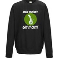 When In Doubt Get It Out Bong 420 Cannabis Mens Womens Sweater Funny Weed Marijuana Jumper Present Joint Doobi Stoner Gift Sweatshirt 1111 - Cannabis Gifts
