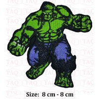 Hulk Super Hero Embroidery iron sew on Patch Badge - Hulk Gifts