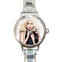 NEW Lady Gaga Watch Italian Charm Watch Bracelet Music fans Great Gift for Fans! - Lady Gaga Gifts