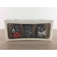 Schleich The Koala Collection by Qantas airlines Australia 1980s promo gifts very rare original package xmas gift discontinued - Schleich Gifts