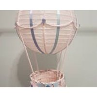 Hot air balloon star bunting/ light shade / hanging decoration/ made to order /customisable - Hot Air Balloon Gifts