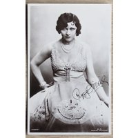 Vintage Actress Postcard Peggy ONeill 1920s Irish American Actress Collectable Art Craft Supply Collage Cardmaking Scrapbooking Journalling - Oneill Gifts