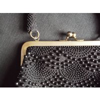 black beaded handbag vintage Hong Kong - Handbags Gifts