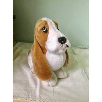 Hush Puppies Dog toy large plush, Wolverine 10 high, Basset hound, collectible toy - Wolverine Gifts