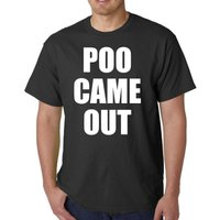 GRAND TOUR Clarkson Poo Came Out Funny T Shirt Adult Humour Top Gear TV Show - Top Gear Gifts